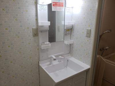 シャワー付洗面台☆神戸市垂水区 ベラヴィスタ福田 賃貸☆