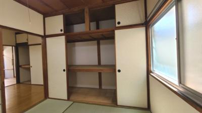 和室収納☆神戸市垂水区 中道アパート☆