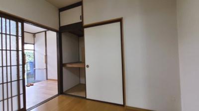 洋室収納☆神戸市垂水区 中道アパート☆