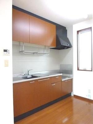【キッチン】レイクパレス