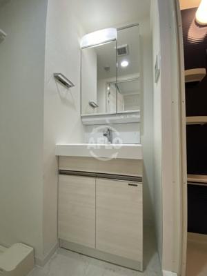 ミラージュパレス新梅田Rio 独立洗面化粧台