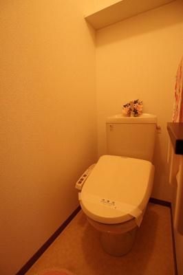 【トイレ】グリーンタウン上安 壱番館