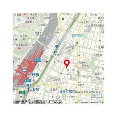 【地図】グローベル ザ・スイート上野