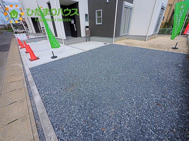 【駐車場】鹿嶋市宮中第4 新築戸建 2号棟