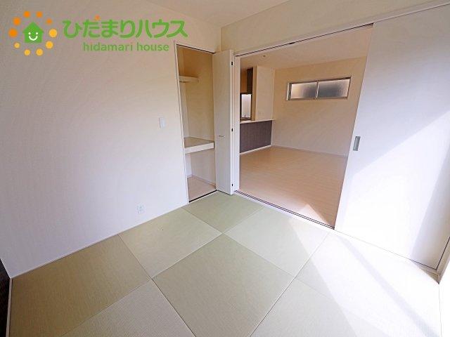 琉球風畳でお洒落な和室(^^)/