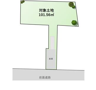 【土地図】東急田園都市線「宮前平」駅 条件無し売地