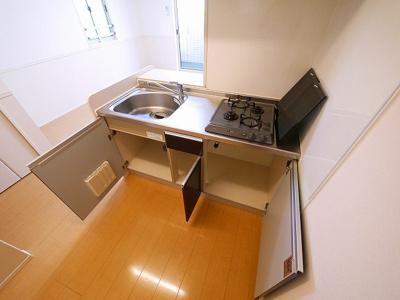 【キッチン】カーサあやめ池