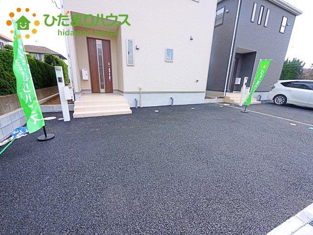 【駐車場】鹿嶋市宮中第5 新築戸建 2号棟