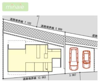 【その他】周辺環境〇 WIC カースペース有 八千代市萱田町 C区画