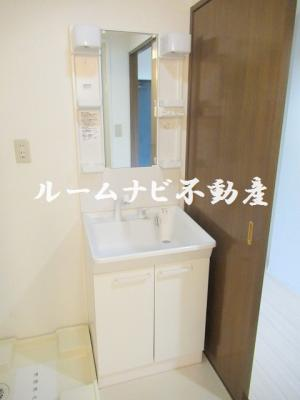 【洗面所】プロスペール日暮里