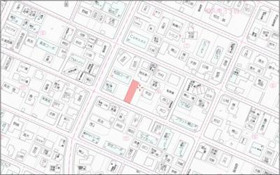 【地図】宮崎市恒久 土地