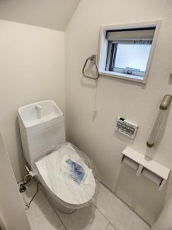 【トイレ】三島市徳倉3丁目 新築戸建 全6棟 (5号棟)