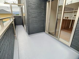 【バルコニー】三島市徳倉3丁目 新築戸建 全6棟 (5号棟)