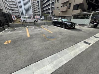 【駐車場】S-RESIDENCE新大阪Ridente