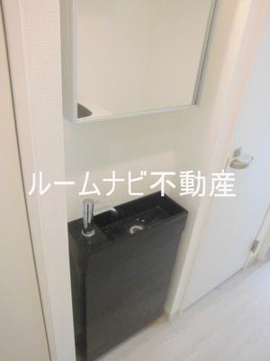 【洗面所】HW.HILLS(西日暮里)