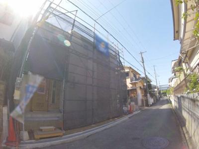 【前面道路含む現地写真】米谷1丁目新築戸建