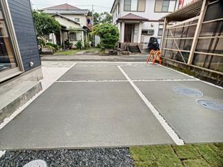 【駐車場】三島市大場 新築戸建 全1棟 (1号棟)