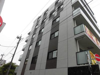 がっちりとした鉄筋コンクリート造のマンションです。
