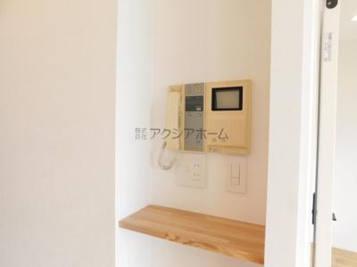 テレビモニター付インターフォン