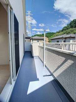 【バルコニー】三島市徳倉3丁目 新築戸建 全6棟 (1号棟)