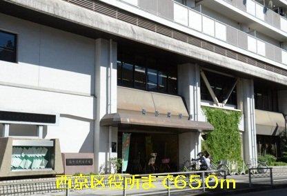西京区役所まで650m