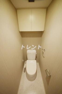 【トイレ】カスタリア東日本橋Ⅱ