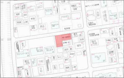【地図】宮崎市大工3丁目