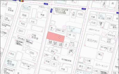 【地図】宮崎市太田4丁目土地