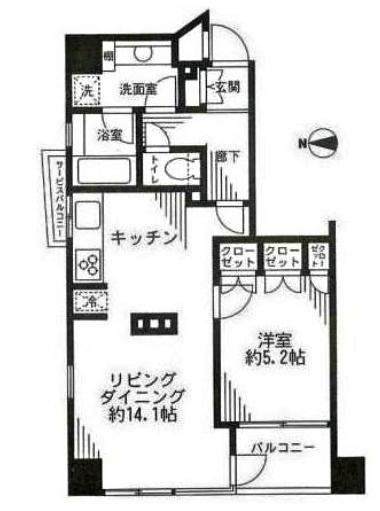 ライフェール新宿御苑ノースサイド