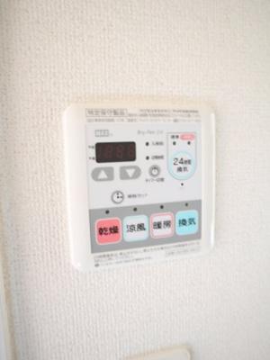 浴室暖房乾燥機能付ですよ♪