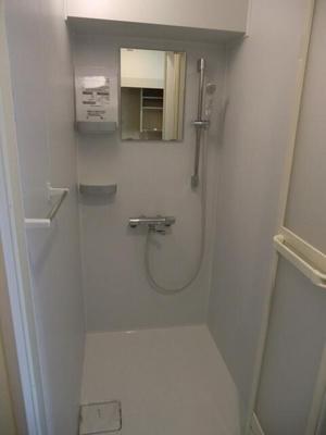シャワールーム付きの物件です