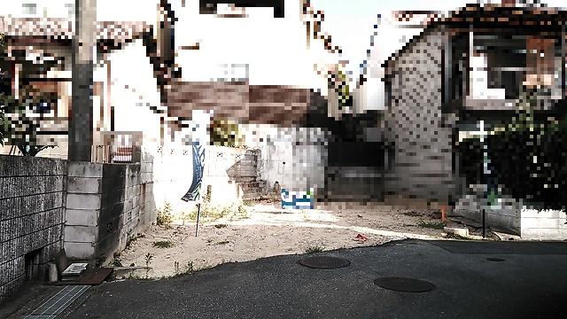 【外観】永楽荘3丁目建築条件無売地