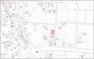 【地図】宮崎市大字熊野 売地1号地