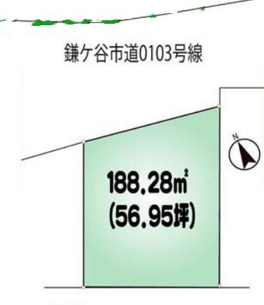 【土地図】鎌ヶ谷市東初富1丁目