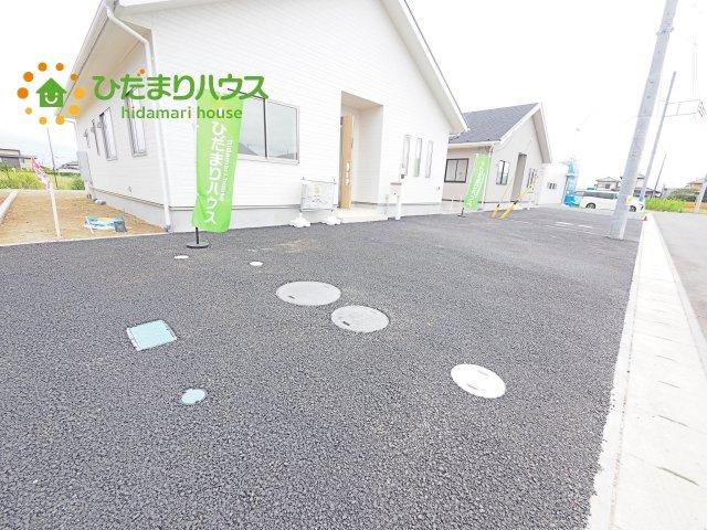 【駐車場】神栖市知手中央第8 新築戸建 5号棟