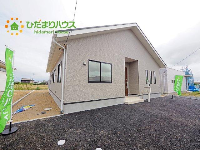 【外観】神栖市知手中央第8 新築戸建 6号棟