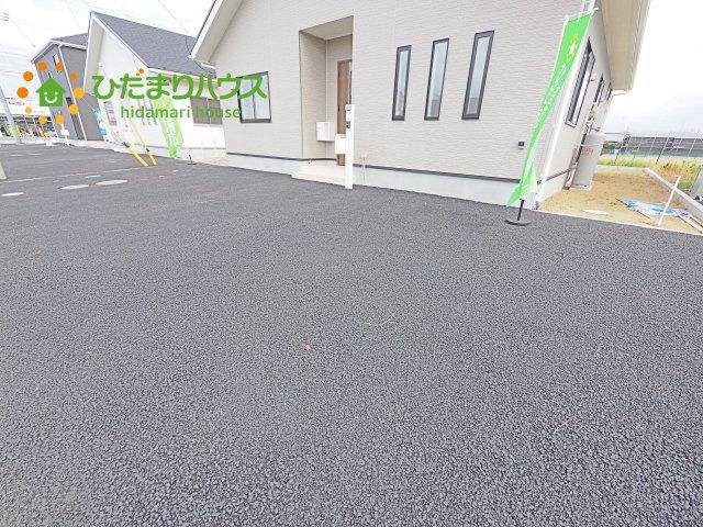 【駐車場】神栖市知手中央第8 新築戸建 6号棟
