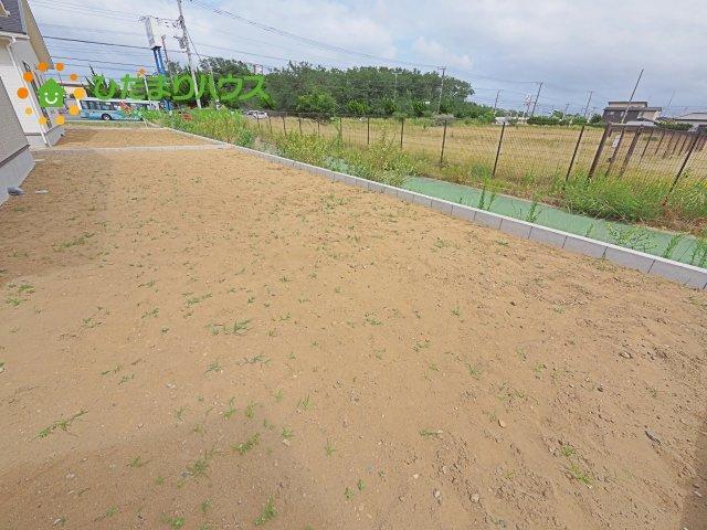 【庭】神栖市知手中央第8 新築戸建 6号棟