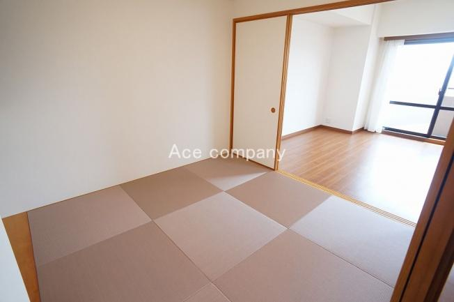 【和室4.5帖】お洒落な琉球畳、新調です☆