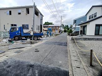 【前面道路含む現地写真】清水町徳倉第16 新築戸建 全3棟 (1号棟)