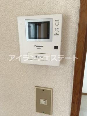 【セキュリティ】第2メゾン亀井 バストイレ別 TVドアフォン 南東向