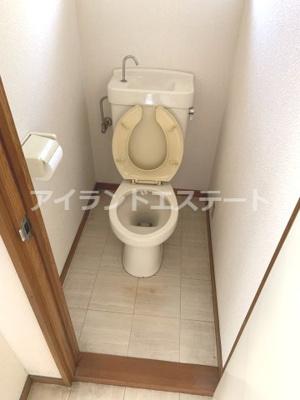 【トイレ】第2メゾン亀井 バストイレ別 TVドアフォン 南東向