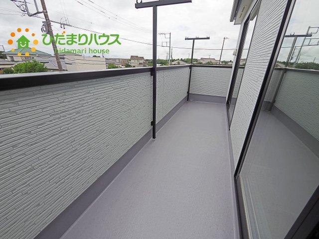 【バルコニー】神栖市日川20-1期 新築戸建 1号棟