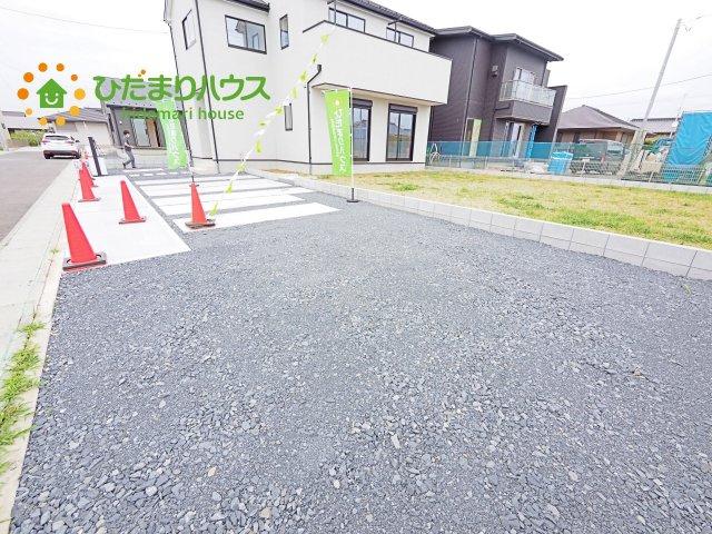【駐車場】神栖市日川20-1期 新築戸建 1号棟