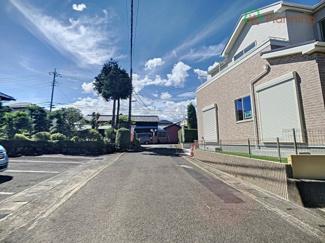 【前面道路含む現地写真】長泉町南一色2期 新築戸建 全1棟 (1号棟)