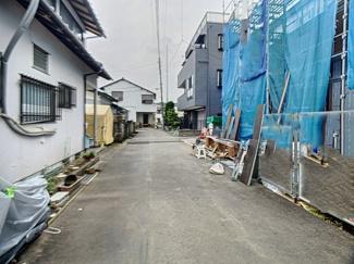 【前面道路含む現地写真】裾野市佐野 新築戸建 全1棟 (1号棟)