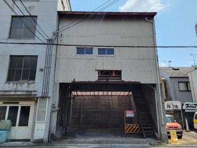 【外観】下京区中堂寺前田町 建築条件無し 売土地