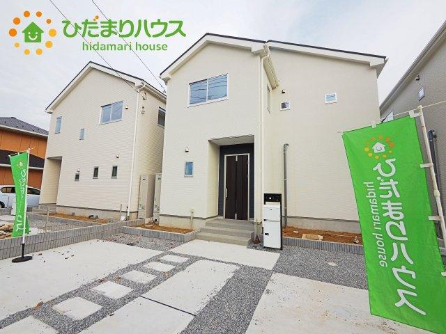【外観】神栖市若松中央20-1期 新築戸建 3号棟