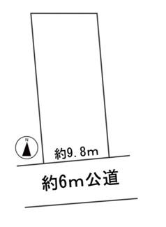 【区画図】57160 岐阜市八代土地