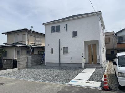 【外観:施工例】多井田新築一戸建 1号地